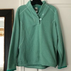 Northface Button Pullover Sweater